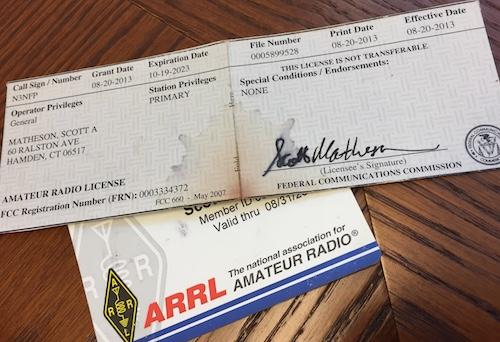 Radio License